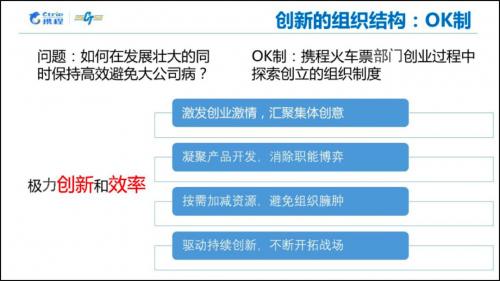 OK制、OKR、投名状——携程地上交通业务群高效创业三利器